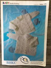 66817434693c Baby Cardigans   Sweaters DK BHKC Knitting Pattern 34 for sale ...