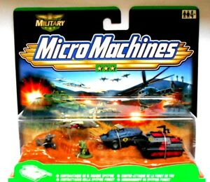 Galoob Micro Machines mm Military Total Battle 1999 Contrattacco Hasbro 79887
