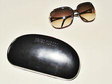Roberto Cavalli Talisia 370S 483 Sonnenbrille Brown & Gold Sunglasses, Etui
