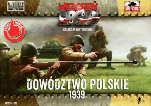 Soldatini 1//72 WW II Polish command FIRST TO FIGHT 023