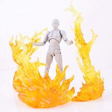 S.H.Figuarts Tamashii EFFECT BURNING FLAME Yellow Fix D-Art Figma Kamen Rider