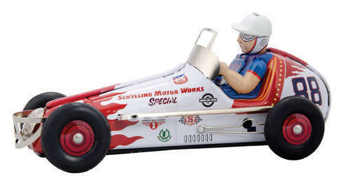 Schylling Collectors Series Wind-up Tin Racer 230846