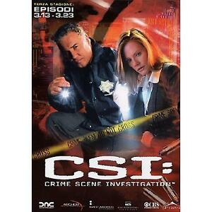 DVD-CSI-Scena-del-Crimine-3-Terza-Stagione-Episodi-3-13-3-23-Cofanetto-Serie-TV