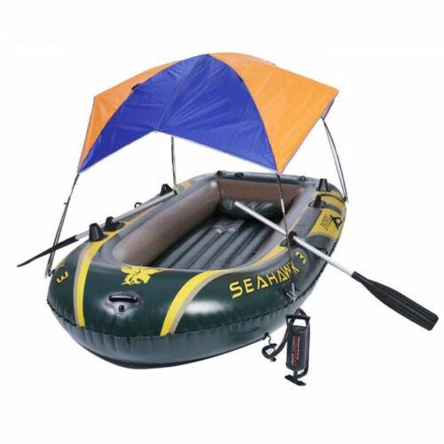 Bootsverdeck Schlauchboot Sonnenverdeck Sonnensegel Sonnendach Bimini Boat Top #