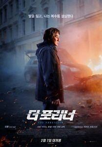 The Foreigner Jackie Chan 2018 Korean Mini Movie Posters Movie