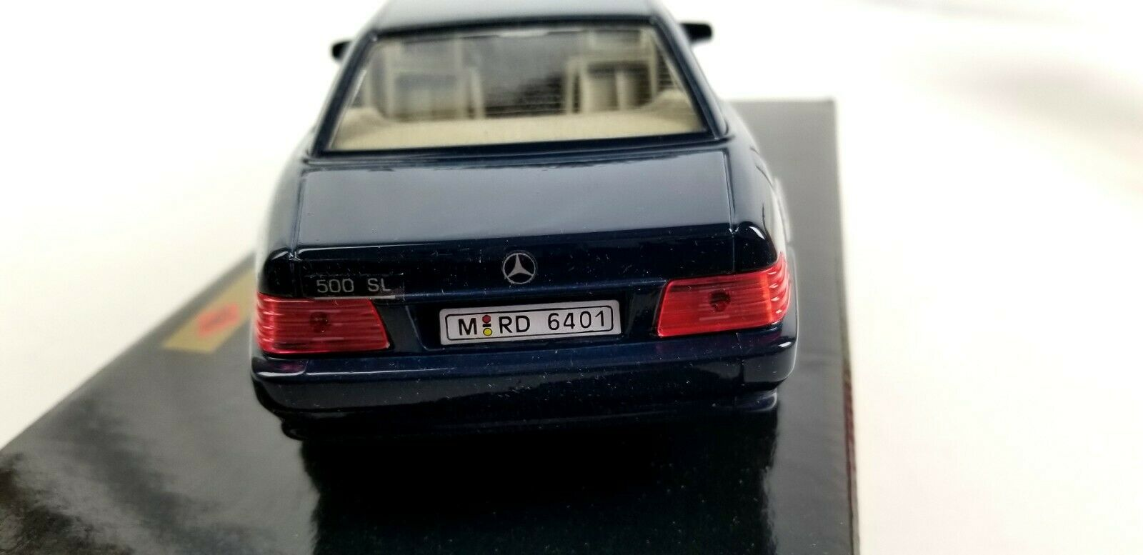 New New New Guiloy Mercedes Benz 500SL Coupe bluee 1 24 Scale Diecast Model Car Replica 14e0c6