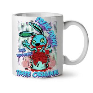 Blood Freak Bunny Zombie NEW White Tea Coffee Mug 11 oz | Wellcoda