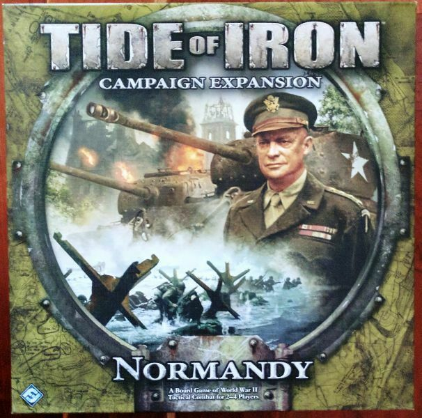 Tide of Iron  Normandy expansion, by Fantasy Flight; contents sealed