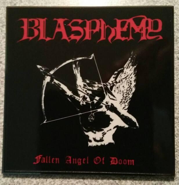BLASPHEMY - Fallen Angel Of Doom - Enamel Metal Pin