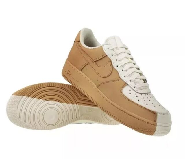 Shoes 105 Men Af1 Force Low 07 Tan Nike 5 Premium 7 1 905345 Size White Air 0wOmNnv8