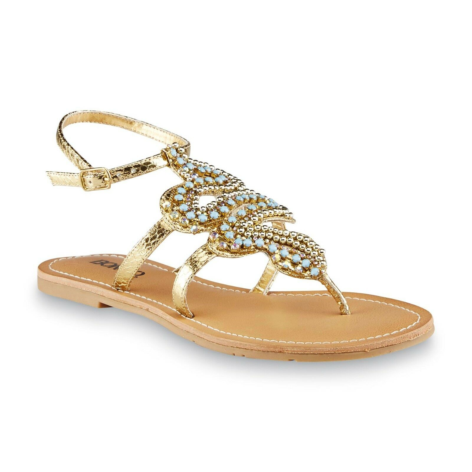 New Womens 4410 Bongo Exotic Shield Sandal Style 4410 Womens Gold 128J pr d9c4a1