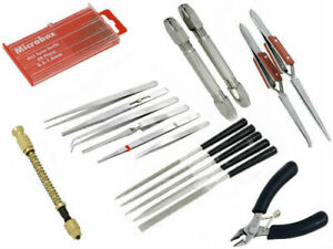 Brand New 37 Piece Hobby Craft Tool Kit Airfix Scale Model Makers Crafting Tools