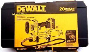 Dewalt CASE ONLY For DCGG571 DCGG570 20V Grease Gun, Battery & Charger 20 Volt