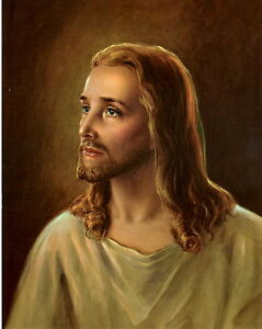 Catholic-Print-Picture-JESUS-CHRIST-Our-Lord-Religious-8x10-034-ready-to-frame