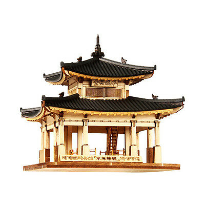 YM653 Ho-Series - Global Cultural heritage Hwaseong Jangdae- Wooden Model Kit