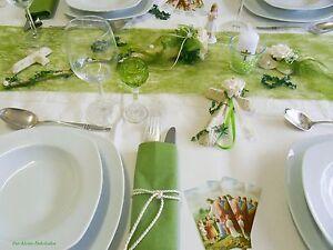 Tischdeko Set Maigrun Tischband Kreuze Fisch Kommunion Hochzeit