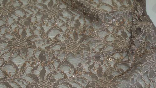 Spitzen Stoff mit Pailletten Spitzenstoff Spitze Korsage KT1484
