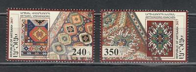 Armenia Karabakh Artsakh 150-51 Mnh** 2017 Carpet Set Teppich
