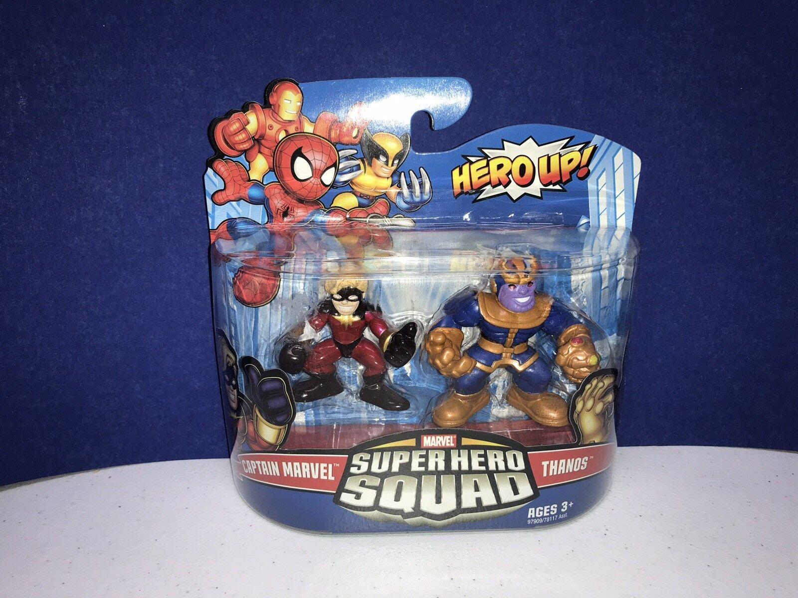 Marvel Super Super Super Hero Squad Captain Marvel Thanos 2009 b0087e