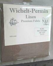 Wichelt-Permin Cross Stitch Linen 32ct Black Chocolate 18 x 27