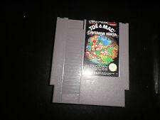 Nintendo NES - joe & mac caveman ninja - cart