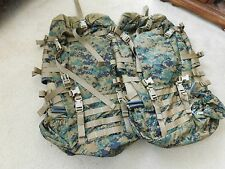 USMC ILBE MARPAT MAIN PACK FIELD BACKPACK (BODY ONLY) LOT OF 2  NEW