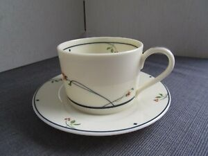 GORHAM-Ariana-Town-and-Country-Fine-China-Collection-Cup-Saucer-Set