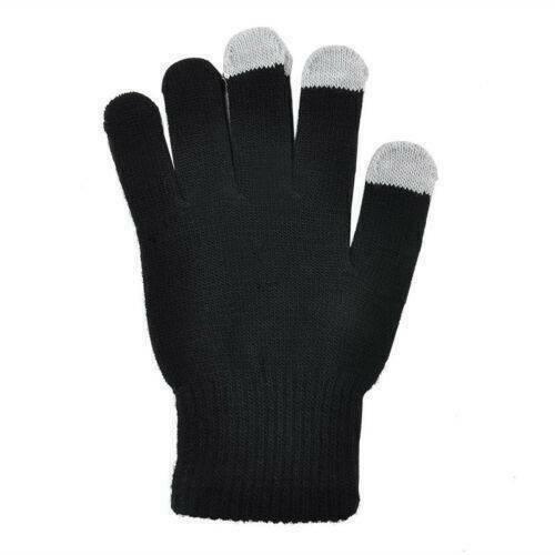 Winter Thermal Warm Fleece Lined Gloves Men Women/'s Mechanics Wear Work Driving