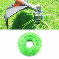Trim Line Strimmer 100m X 2.4mm Durable Nylon Spool Refill Cord Wire Trimmer