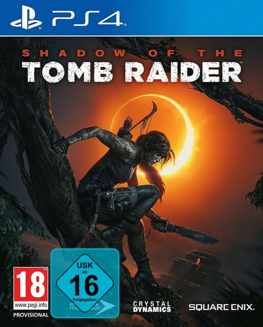 Shadow of the Tomb Raider - PS4 Playstation 4 Spiel - NEU OVP