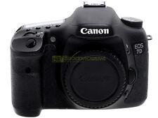 Canon EOS 7D fotocamera digitale, 18Mp, video HD. Garanzia. Solo 25000 scatti!
