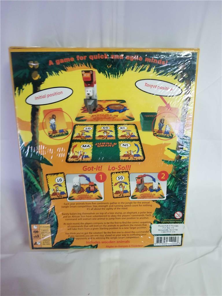 Foxmind Games Jungle Smart Board Game Brand New Factory Sealed Sealed Sealed d00ec8