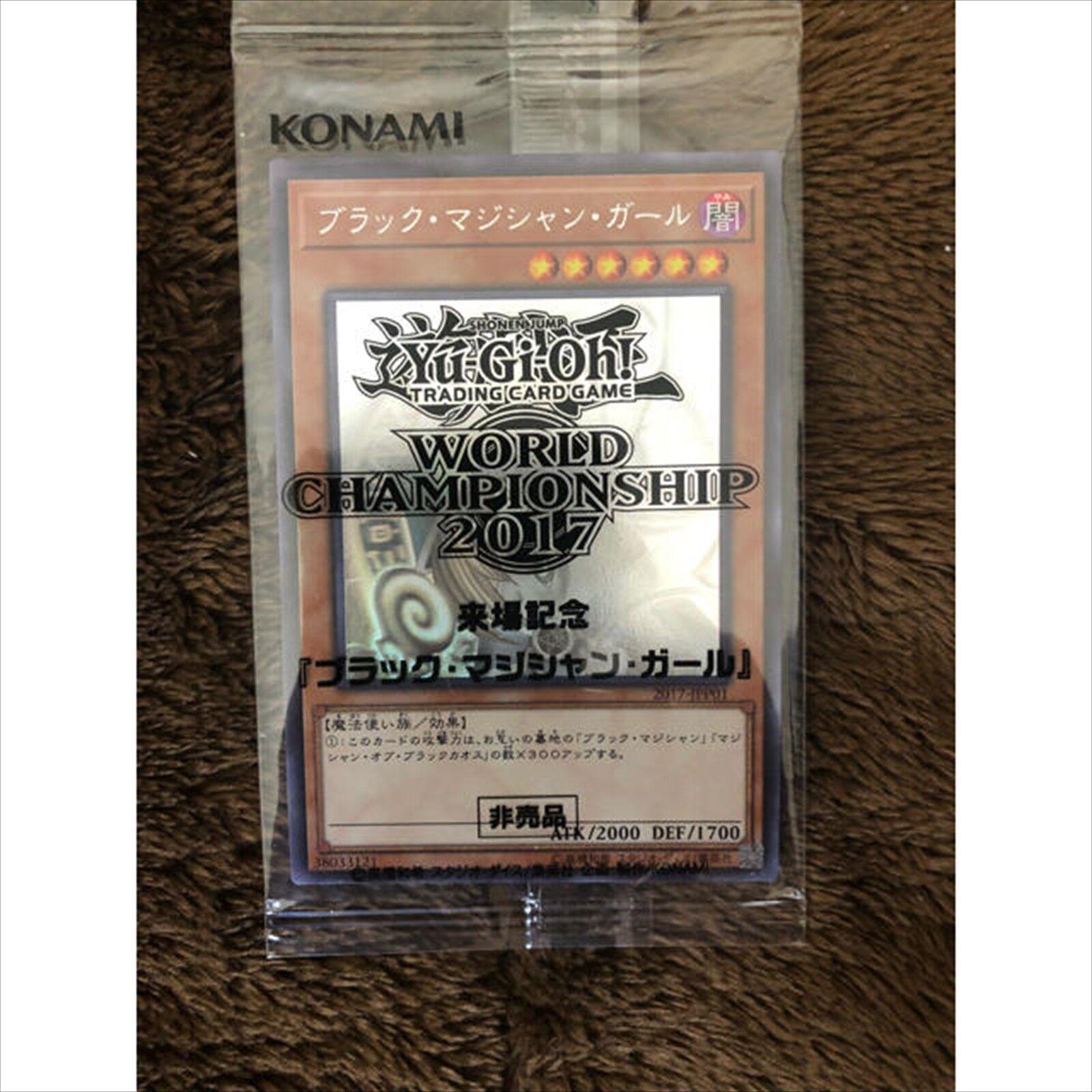 Yugioh World Championship 2017 JPP01 Promo Dark Dark Dark Magician Girl Ghost Rare F S NEW 519c71