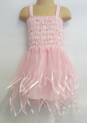 Fairy Dress With Wings Ballet Tutu Dance Costume Pink 2-4 Years Polyester Tulle