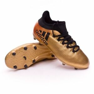 sale retailer 9fa33 f4dc0 Details about ADIDAS X 17.1 FG JUNIOR NSG SOCCER CLEATS YOUTH SIZE 4.5Y NEW  WITHOUT BOX!