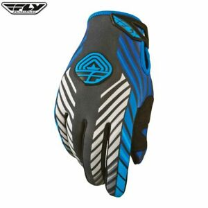 Fly-907-Adulti-Tempo-Freddo-Mx-Dirt-Bike-Off-Road-Guanti-Motocross-Blu-Grigio