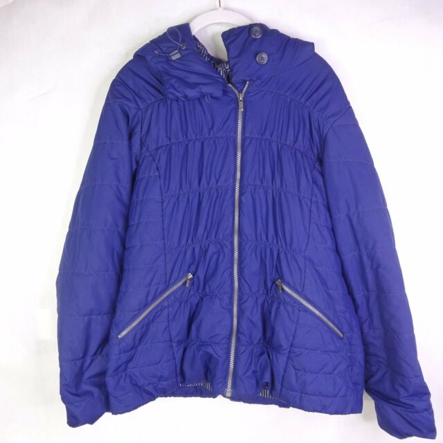 Columbia Thermal Coil Womens Puff Jacket Pockets Zip-Up ...