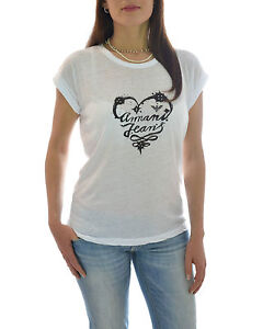 Con Saldo Armani Jeans shirt In Cuore T Stampa angtnwq0