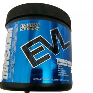 Evlution Nutrition Trans4orm Blue Raz 30 Servings Thermogenic Energizer 147 g