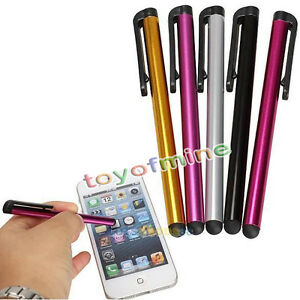 cran 5 pi ces stylet tactile pour ipad iphone samsung tablet pc ipod touch ebay. Black Bedroom Furniture Sets. Home Design Ideas