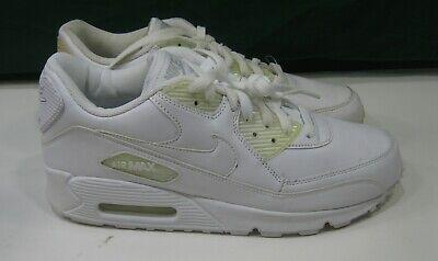 NIKE AIR MAX 90 LEATHER 302519 113 white, white Size 10 | eBay