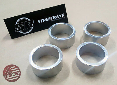 "450 StreetRays Honda Foreman Rubicon 400 500 ATV Complete 2/"" Lift Spacer Kit"