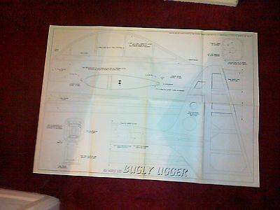 Aeromobile Modello Piano Bugly Ugger Sport Acrobatico Da M Lee-mostra Il Titolo Originale Famoso Per Materie Prime Di Alta Qualità, Gamma Completa Di Specifiche E Dimensioni E Grande Varietà Di Design E Colori