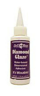 Judi Kins 2 OZ DIAMOND GLAZE Pendant Sealer crystal adhesive 3D dimension