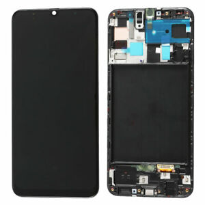 For Samsung Galaxy A50 A505 LCD Display Touch Screen Digitizer Replacement+Frame