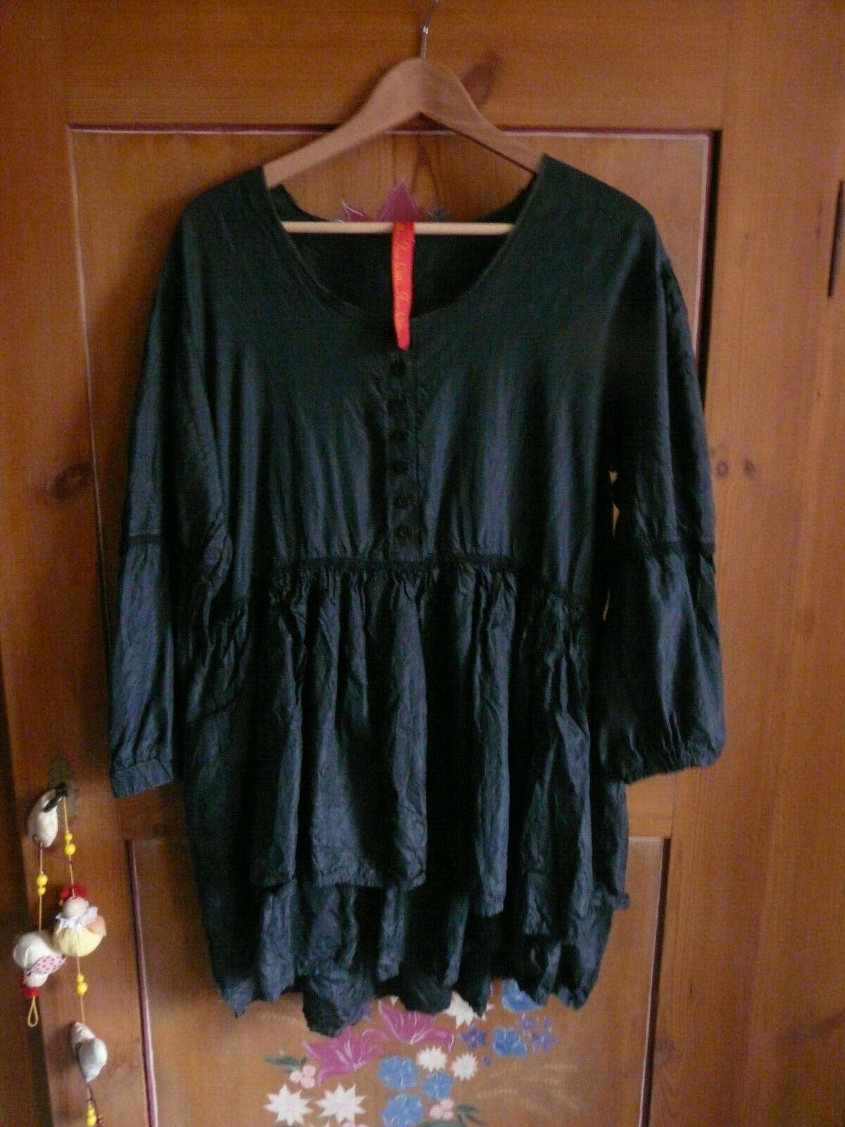 Sublime chemise tunique en soie  Ewa i walla shabby romantique bohême