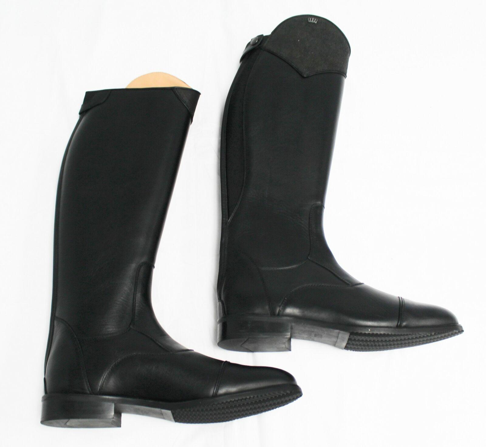 Kingsley Women's Zip-Up Aspen Special Tall Dress Boots BF5 Black Size 44