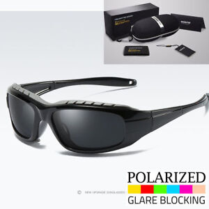 3a563f4324 Image is loading Polarized-Wind-Resistant-Sunglasses-Sports-Motorcycle- Riding-Glasses-