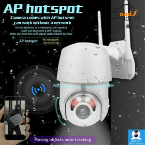 Wireless-Outdoor-CCTV-PTZ-Speed-HD-1080P-WIFI-IP-Camera-Dome-Security-IR-Cam