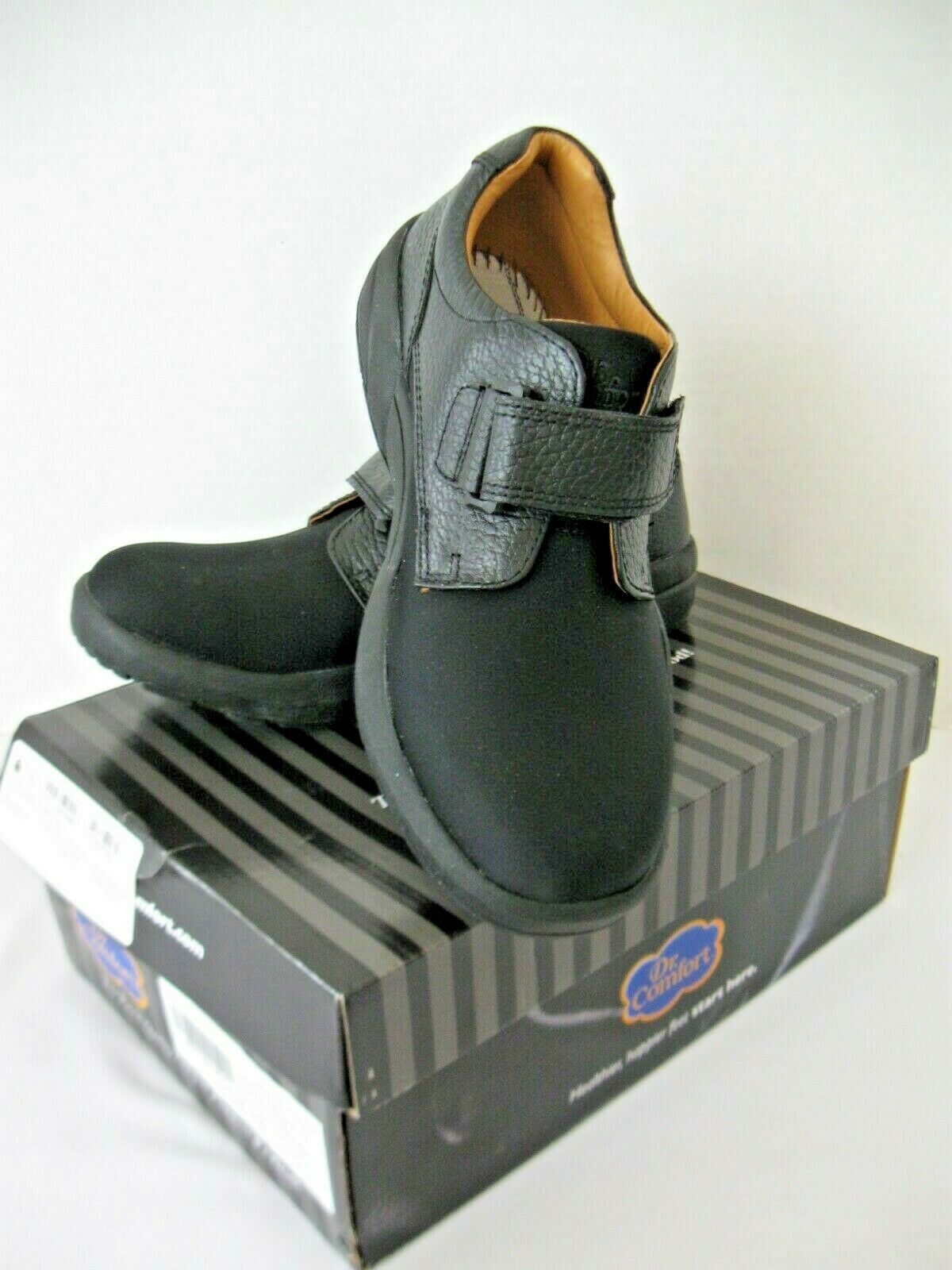 Nuevo Brian 5 Zapato Correa M DrComfort 6 Negro 6510 Para Talla Ac4q5Rj3L